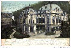 Cp Karlovy Vary Karlsbad Stadt, Ansicht Vom Kaiserbad - Tchéquie