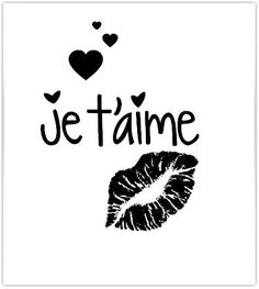 Tampon je t'aime Coeur et Bisous 30mm : Tampons et encres par eclatsdelune Famous Love Quotes, Cute Love Quotes, Quotes About Photography, French Quotes, Crush Quotes, Tampons, Etsy, Instagram, Scrapbooking