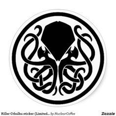 Bordado Steampunk Cthulhu insignia Adorno Lovecraft Motif parche