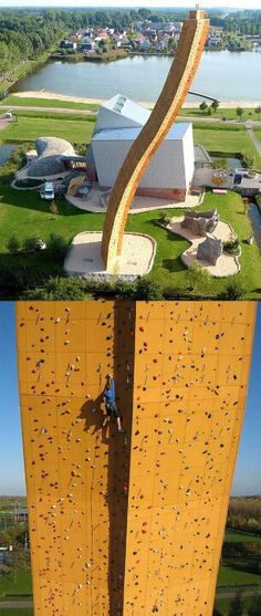 I would probably die up there!