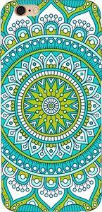 Capinha para celular - Mandala Verde