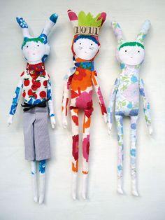 modflowers: boy dolls