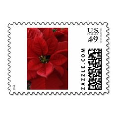 Poinsettia Stamp