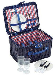 Kitchen Craft Two person picnic hamper