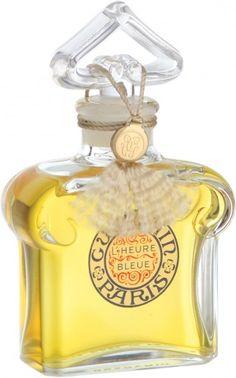 I adore this! L'heure Bleue perfume...