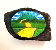 Wizard if Oz Yellow Brick Road #paintedrock