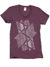 Supermaggie Optimus Mulberry Womens Short Sleeve Tee $32 (Suggested item to recreate this #outfitidea: http://www.franticbutfabulous.com/2014/02/26/working-mom-outfit-idea-bit-print/)