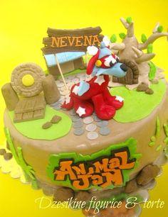 Animal Jam Cake — Birthday Cakes