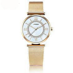 Cheap feminino, Buy Quality feminino relogio Directly from China Suppliers:SINOBI Brand Gold Women Watches 2018 Montre Femme Fashion Ladies Bracelet Quartz Wristwatches Crystal Diamond Relogio Feminino Gold Watches Women, Ladies Watches, Top Luxury Brands, Gold Top, Gold Fashion, Women's Fashion, Fashion Women, Classic Fashion