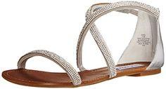 Steve Madden Women's Zsaza Dress Sandal, Silver, 6.5 M US Steve Madden http://www.amazon.com/dp/B00NA9BD8G/ref=cm_sw_r_pi_dp_nsIgvb0MRJFRF
