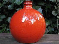 Vintage Melitta Ceracron Vase – 1960s Op Art – Mid Century Modernist – WGP – German Fat Lava Era – red – retro style – rare design von everglaze auf Etsy