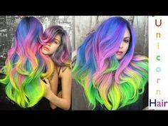 Unicorn Hair - YouTube