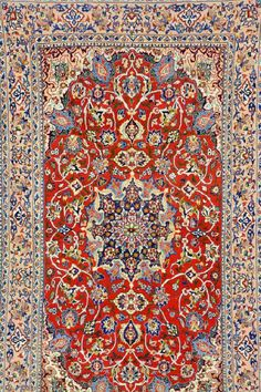 Isfahan,, Isfahan, Persia, circa 30 years old, wool/silk, approx. 178 x 106 cm