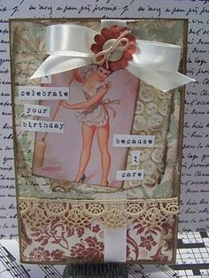 Vintage Birtyday Card