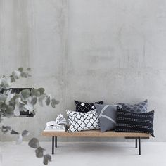 Seitti-, Aita-, Sormus-, Kenno and Polku-cushion covers