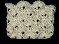 Un Nuevo punto en Crochet que por su forma es llamado Abanico