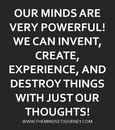 Please destroy the negative things and think the good ones. Happy Quotes, Positive Quotes, Motivational Quotes, Inspirational Quotes, Some Quotes, Great Quotes, Quotes To Live By, Encouragement Quotes, Wisdom Quotes