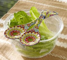 Rope Outdoor Serve Bowls | Pottery Barn