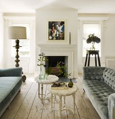 Habitually Chic® » Sag Harbor Stunner Home Living Room, Living Room Designs, Living Spaces, Veranda Magazine, 21st Century Homes, Classic House, Living Room Inspiration, Interior Design, Sag Harbor
