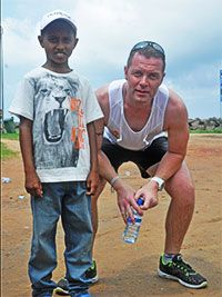 Mark Kirby's Sri Lanka Charity Run for Children