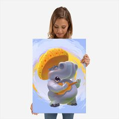 Hippopotamus mariachi poster by from collection. Hippopotamus, Tweety, Poster Prints, Metal, Stuff To Buy, Fictional Characters, Art, Art Background, Kunst