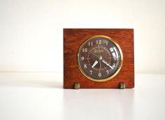Mid-Century Modern Desk Clock | Modern desk, Modern clock and Clock