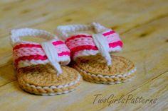 Sporty Baby Flip Flop Sandal Pattern  | Craftsy