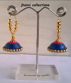 Jhumka Earrings - by: jhanvi collections