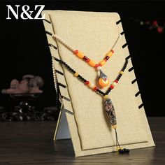 Cheap display shelf, Buy Quality pendant box directly from China jewelry display stand Suppliers: 8 Card Slots Linen Material Display Shelf Board  Pendants Jewelry Display Stand Necklaces Board Jade Pendant  Box Store Shelf