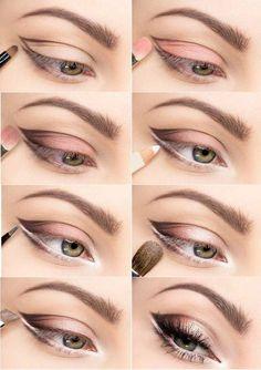 Makeup Ideas: Soft ColorsFor BiggerLookingEyes
