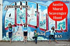 Austin Mural Photo Scavenger Hunt ~ Austin, TX - R We There Yet Mom? | Family Travel for Texas and beyond...