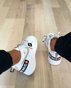 Shop Air Force 1 Low 07 PRM Just Do It Nike on GOAT. We guarantee authenticity on every sneaker purchase or your money back. Hype Shoes, Women's Shoes, Me Too Shoes, Shoes Sneakers, Yeezy Shoes, Aldo Shoes, Baby Shoes, Pump Shoes, Shoes Style