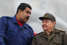 El mito, poderosa arma de Raúl Castro y Nicolás Maduro -Angélica Mora-Cubanet – The Bosch's Blog