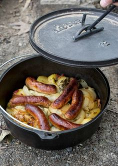 Learn how to make a Dublin Coddle with this easy make-ahead camping recipe.