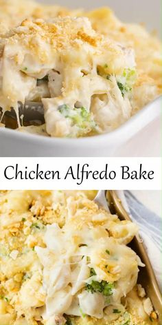 Pasta Dishes, Food Dishes, Alfredo Sauce Recipe Easy, Cooking Recipes, Healthy Recipes, Easy Delicious Recipes, Tasty, Yummy Food, Easy Casserole Recipes