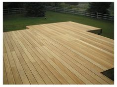 garapa wood doesn't need stain or seal #wood