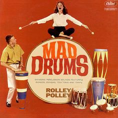 Mad Drums LP by Bobby Black's Rolley Polley