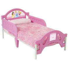 Good Disney Princess Pretty Pink Toddler Bed