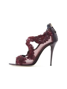 70f4204223a Bordeaux Lace   Patent Ambria Platform Sandals