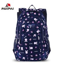 $51.65   RUIPAI 2017 School Bags for Girls Cute Printing Women's Backpacks Nylon Children Schoolbags for Girl Boys Preppy Style Back pack Outfit Accessories FromTouchy Style   Free International Shipping. School Bags Brands, Cheap School Bags, School Bags For Kids, Kids Bags, Boys Backpacks, School Backpacks, Hello Kitty Backpacks, Cute Bags, Casual Bags