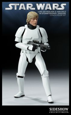Sixth Scale Figure Environment - Han Solo and Luke Skywalker in Stormtrooper Disguise #2179