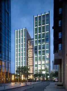 2011 China, Beijing   Jiaming Center-gmp Architekten von Gerkan, Marg und Partner