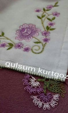 Decorative Towels, Embroidery, Lace, Model, Herb, Machine Embroidery Designs, Embroidery Machines, Manualidades, Needlepoint