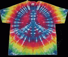 How to Tie-Dye Shirts with Spray Paint  made with tie dye spray on fabric paint =)