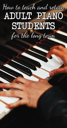 Do you teach adult piano students? What is the biggest challenge for you with this demographic? http://colourfulkeys.ie/perfect-first-lesson-adult-piano-student/