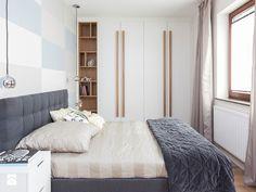pastelowa aranżacja sypialni w stylu nowoczesnym