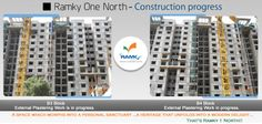 Ramky One North - Construction Update #Luxury Undefined! @ Ramky One North - Bengaluru For More Info - www.ramkyestates.com