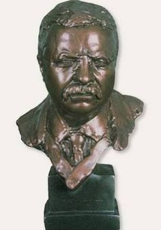 statue Theodore Roosevelt -ebay - Google Search