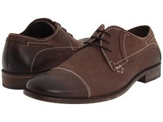 I like these dress shoes in brown.  They look old and faded.  Super hipster.  Giorgio Brutini 47814 Brown - 6pm.com