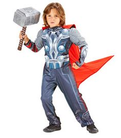 light-up muscle chest thor costume child costume - Chasing Fireflies